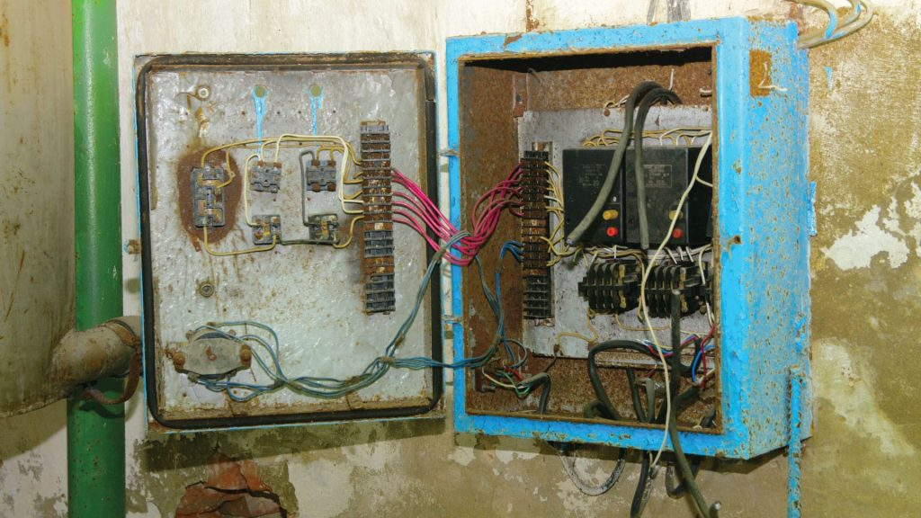 Outdated Electrical Panel